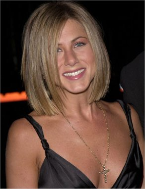 Which hairstyle looks better on Jennifer Aniston?