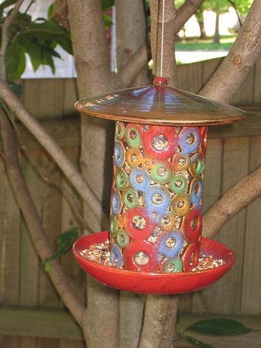 Bird Feeders can be Backyard Art!
