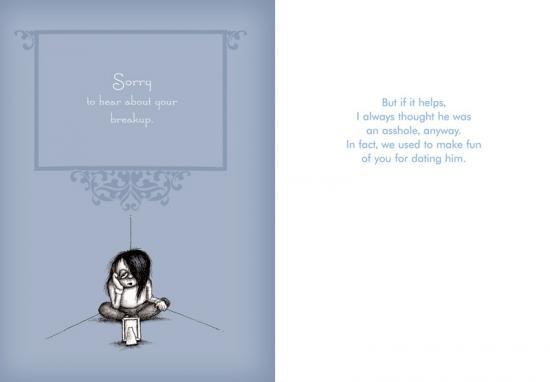 Be a Friend, Send a Break-Up Card