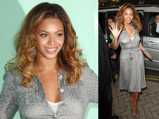 Beyonce Makes it to the UK