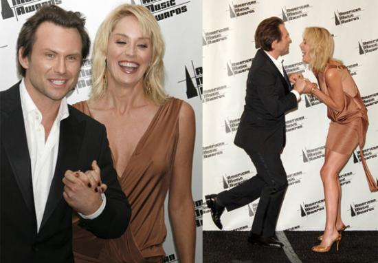 Christian Slater Goes Cougar Hunting....