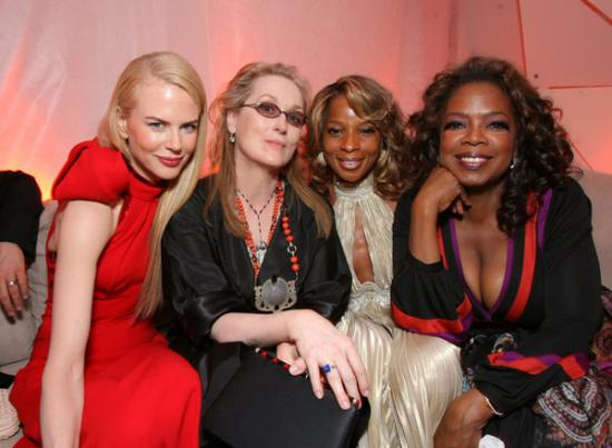 Vanity Fair Oscar Party: The Fab Four