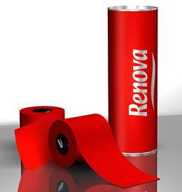 Renova Red Toilet Paper