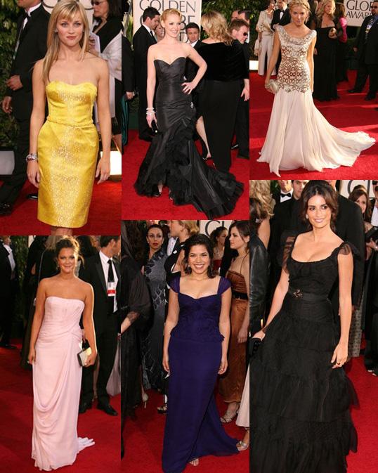 FabSugar Golden Globe Red Carpet Round Up