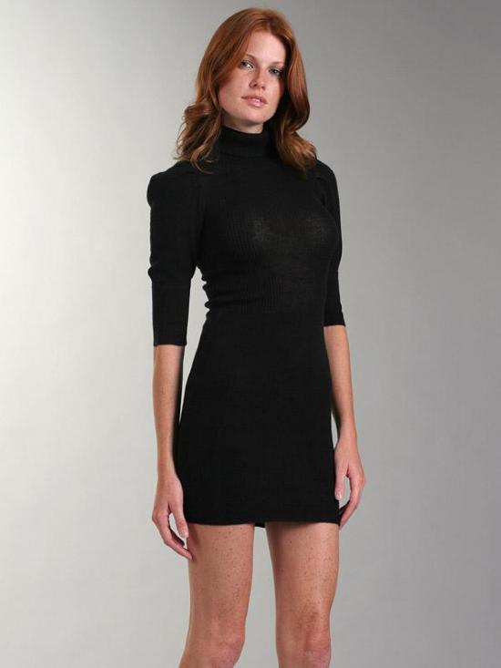 Trend Alert: Beatnik Black Dresses