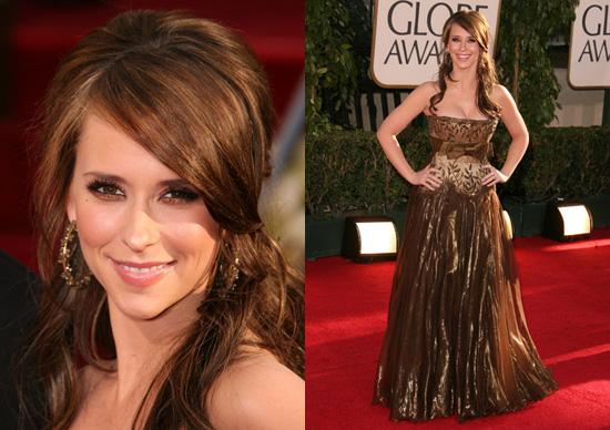 The Golden Globes Red Carpet: Jennifer Love Hewitt