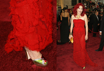 Patricia Field's Special Oscar Payless Shoes