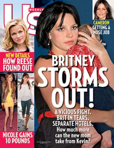 Behind Britney's Break Up Round Up