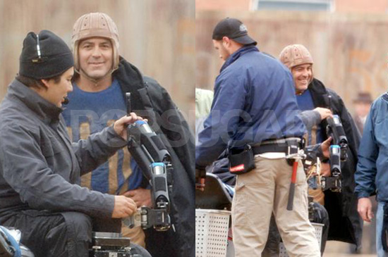Silly Helmet Aside, Clooney Manjoyment For You