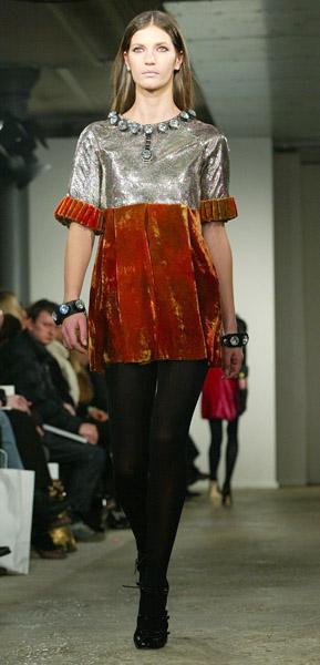 London Fashion Week, Fall 2007: Christopher Kane