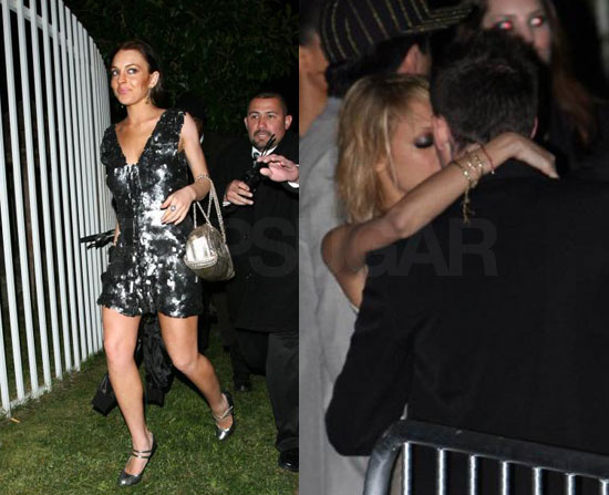 LL & Nicole Hit the Oscars (Way) After-Party
