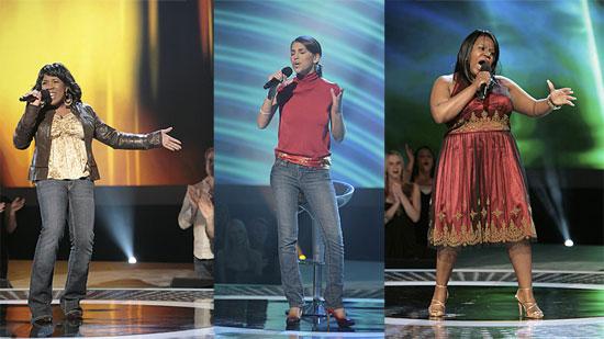 The Ladies Step it up on American Idol