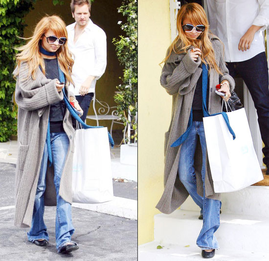 Nicole Richie Opts for Retail Therapy Over Rehab