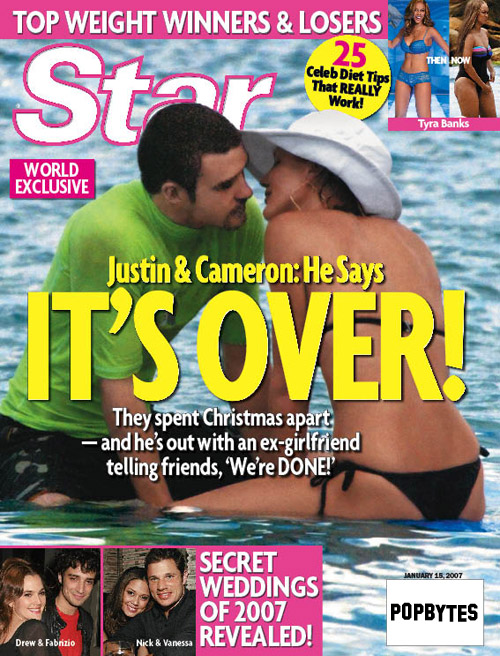 Are JT and Cameron Really Over?