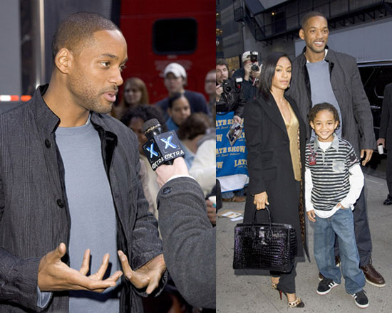 The Pursuit of Happyness was a Family Affair