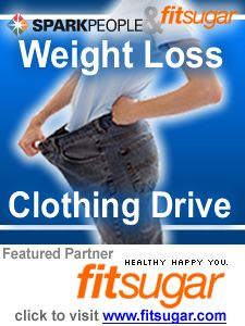 Weight Loss Clothing Drive with SparkPeople.com