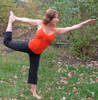 Strike a Yoga Pose:  Dancer