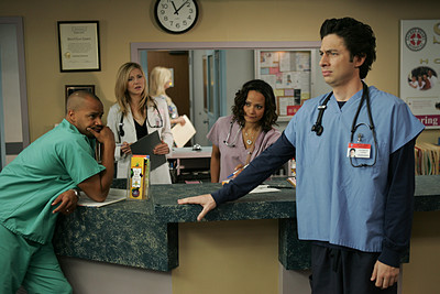 "Hey, ""Scrubs"": WTF?"