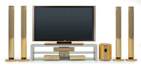 Gold-Plated TV's Pricetag: $132,000