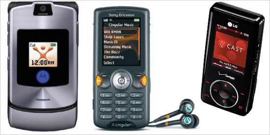 Cellphones for the Music Fan