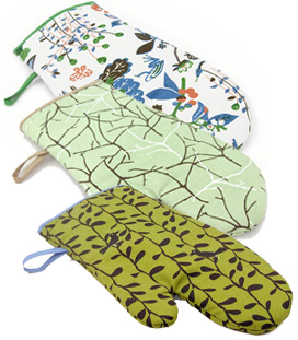 Stylish Oven Mitts