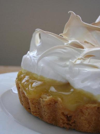 Savory Sights: Texas Big Hairs Lemon Meringue Tart