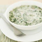 Retro Side: Creamed Spinach