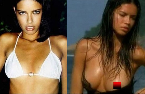 "Adriana Lima... Got some ""enhancements"""