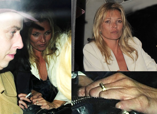 Kate Moss Engagement Ring Photos Kate Moss Birthday Party Pictures