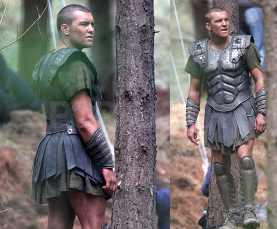 Photos of Sam Worthington on The Set of Clash of The Titans in Wales |  POPSUGAR Celebrity