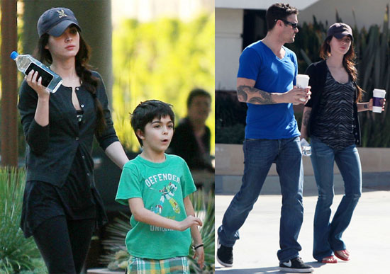 Photos of Megan Fox And Brian Austin Green Shopping With ...