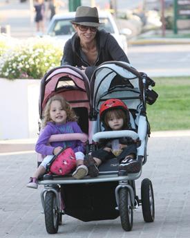 Brooke Burke and Children   POPSUGAR Moms