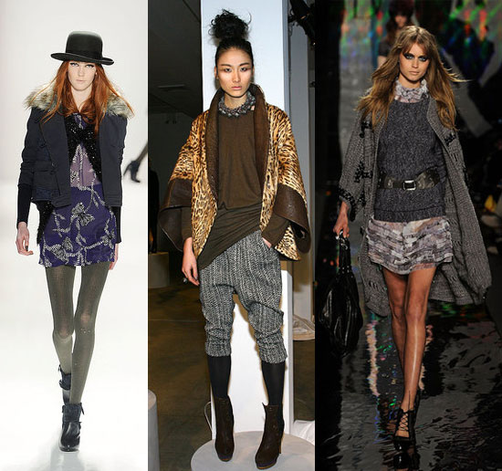 2010 Fall Nyfw Trend Nomadic Layers Popsugar Fashion