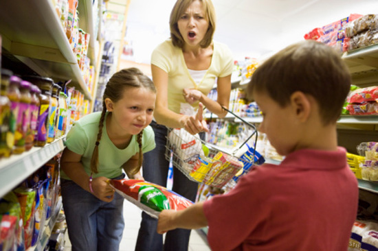 Babysitting at Grocery Store | POPSUGAR Family