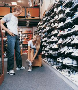 Do Running Shoes Break Down Even When