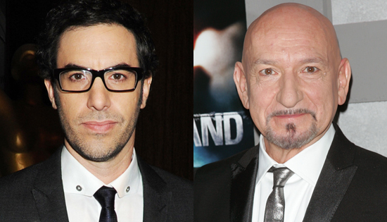 Sacha Baron Cohen and Ben Kingsley to Star In Scorsese's ...