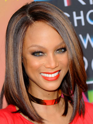 Tyra Banks At 2010 Kids Choice Awards Popsugar Beauty