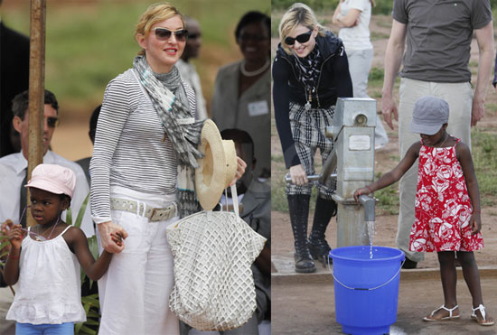 Photos Of Madonna Mercy James And Lourdes Leon In Malawi To Open The Raising Malawi School For Girls Popsugar Celebrity Все 9 плейлистов 38 треков. madonna mercy james and lourdes leon
