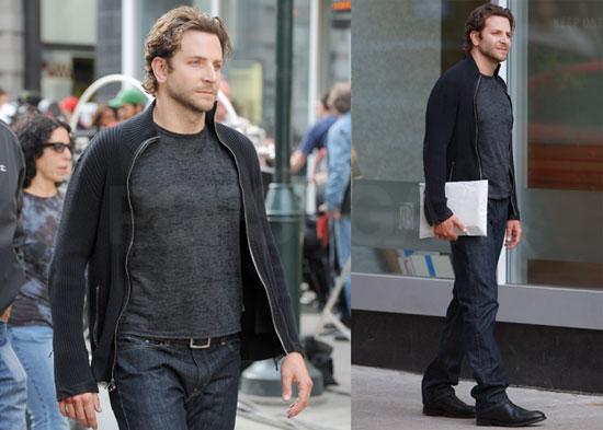 1380d02b6 Pictures of Bradley Cooper Filming The Dark Fields in Philadelphia ...