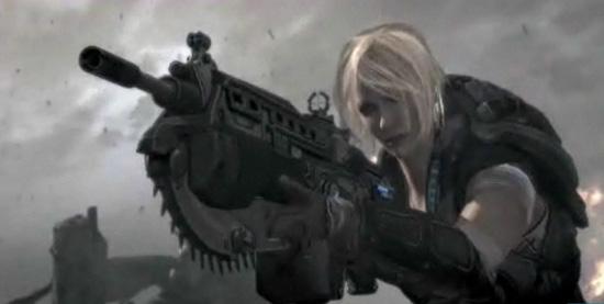 female characters in gears of war 3 popsugar tech