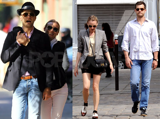 Pictures of Diane Kruger and Joshua Jackson on Vacation ...