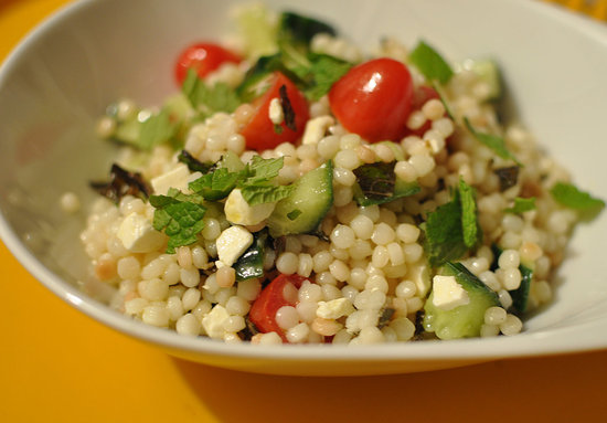 Recipe for couscous with tomato feta and mint popsugar fitness sisterspd