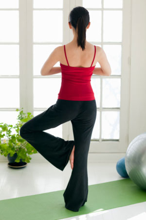 tips for a home yoga practice  popsugar fitness
