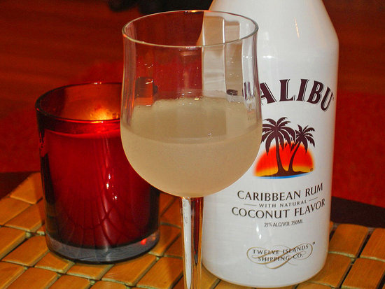 how to make a drink with malibu rum