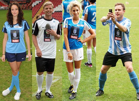 Celebrity Soccer Six :: West Ham :: IAmMusicTV :: Official ...
