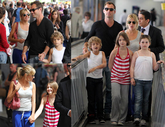 Pictures of Jude Law and Sienna Miller Arriving in Paris ... джуд лоу