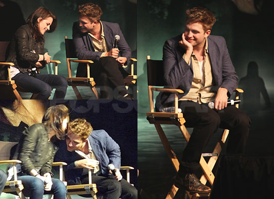 Kristen Stewart And Robert Pattinson And Taylor Lautner Kiss Pictures of Robert Pat...