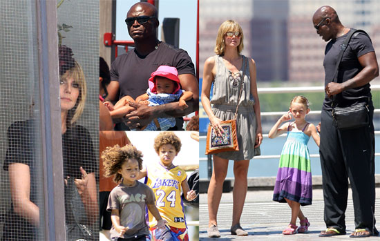 Pictures of Heidi Klum With Seal and Their Children ...