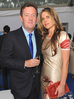 Pictures Of Piers Morgan And Celia Walden S Wedding