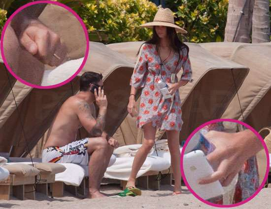 Pictures of Megan Fox Wearing Wedding Ring and Brian Austin Greens